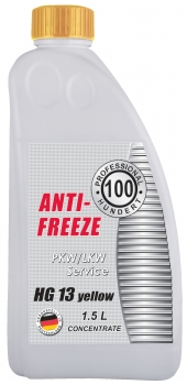 Antifreeze HG 13 (yellow)
